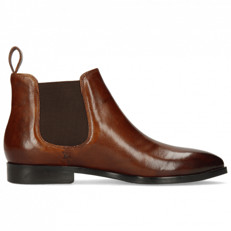 Ankle boots Jessy 1 Nappa Glove Mink Elastic