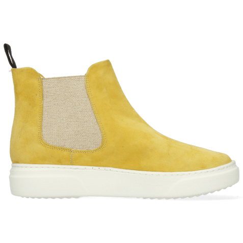 Ankle boots Hailey 2 Parma Suede Sun Flower Elastic Lino