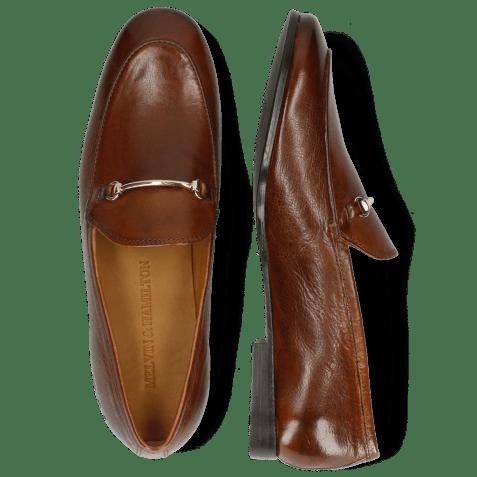 Loafers Scarlett 22 Pisa Wood Trim Gold Lining