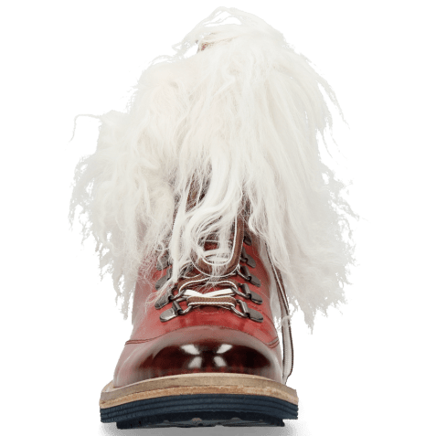 Ankle boots Amelie 73 Ruby Fur Mongolian White