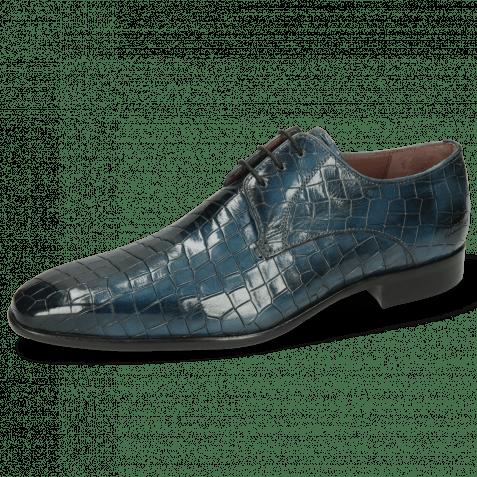 Derby shoes Lance 8 Crock Ice Lake Lining Purple