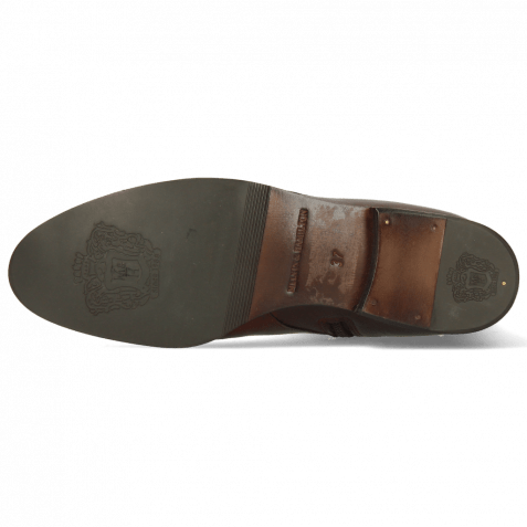 Boots Susan 71 Imola Mid Brown M&H Crown Embossing