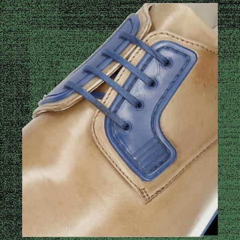 Derby shoes Dave 4 Tough Digital Electric Blue