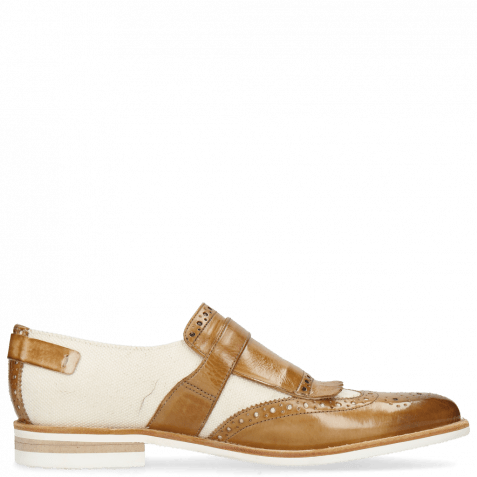 Loafers Clint 26 Sand Canvas Off White