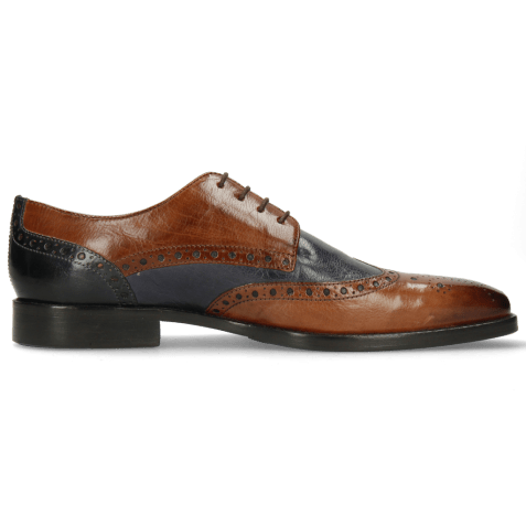 Derby shoes Martin 15  Berlin Wood Navy