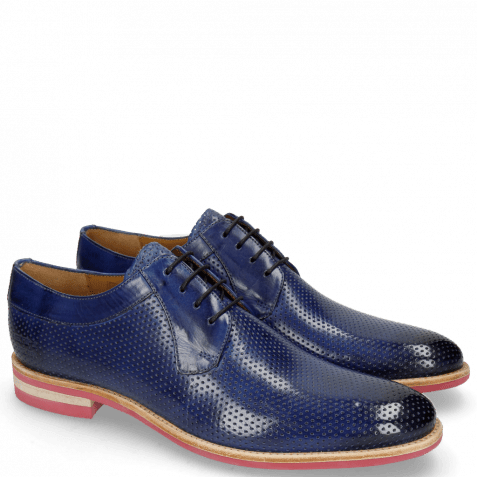 Derby shoes Clint 24 Perfo Sapphire Modica