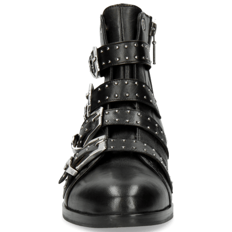 Ankle boots Susan 44 Nappa Black Sword Buckle