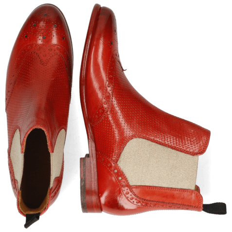 Ankle boots Selina 6 Pavia Perfo Fiesta