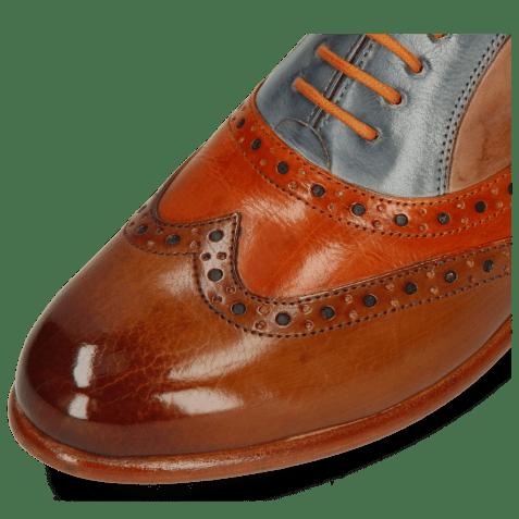 Oxford shoes Selina 24 Tan Arancio Satellite Make Up