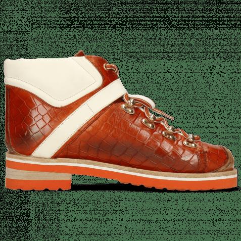 Ankle boots Eliza 1 Crock Winter Orange Vegas White