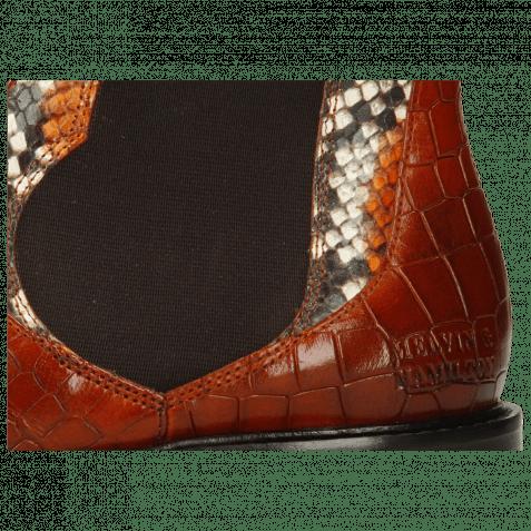 Ankle boots Sally 113 Crock Winter Orange King Snake