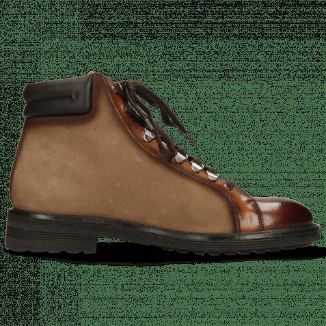 Ankle boots Trevor 33 Wood Suede Rubber Print Paris