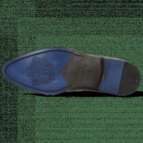 Derby shoes Kane 2 Black Lining Rich Tan
