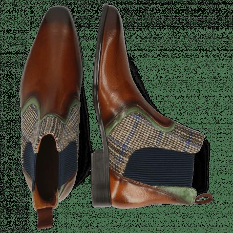 Ankle boots Lewis 26 Imola Wood Prato Textile Bambino