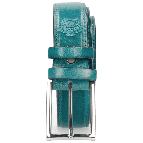 Belts Larry 1 Turquoise Classic Buckle