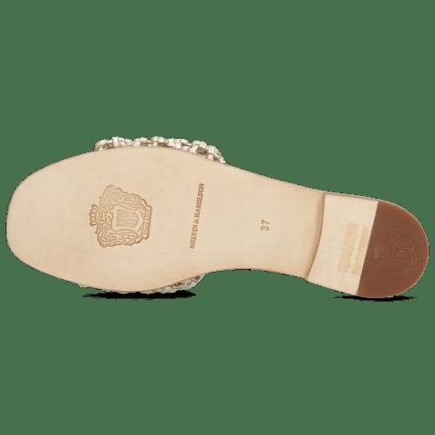 Mules Elodie 32 Mignon Platina Footbed