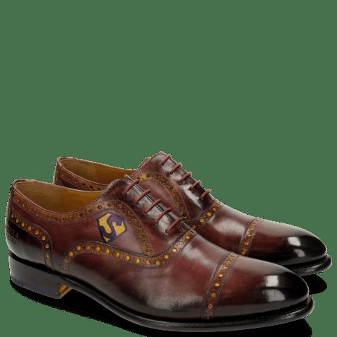 Oxford shoes Lionel 1 Burgundy