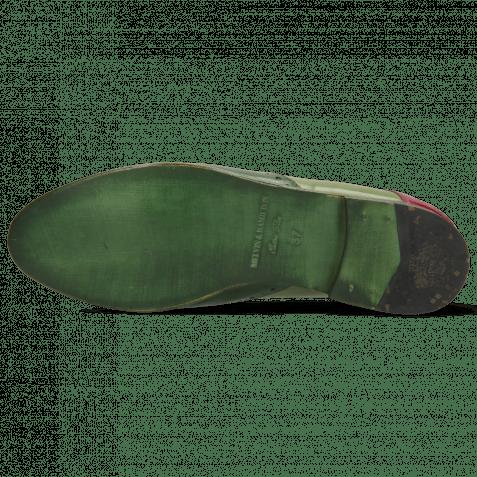 Derby shoes Selina 41 Dark Forest New Grass Dark Pink