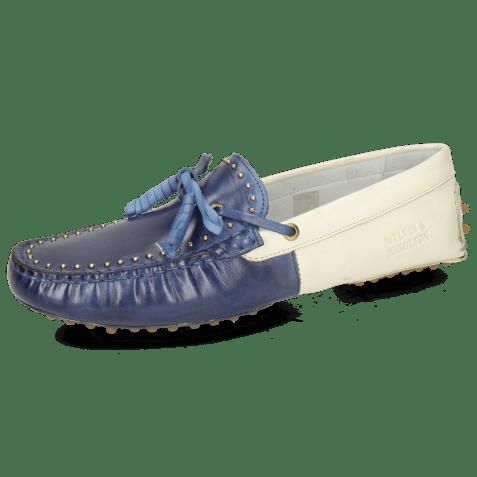 Loafers Caroline 8 Vegas Wind White