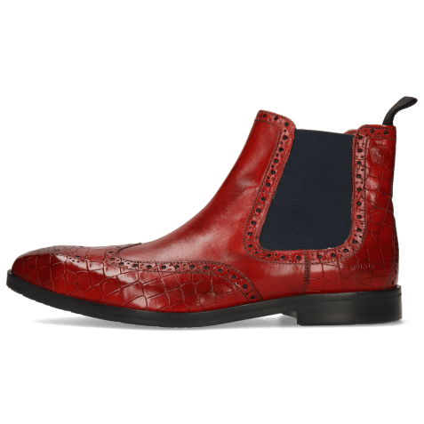 Ankle boots Greg 2 Venice Crock Ruby Elastic Black