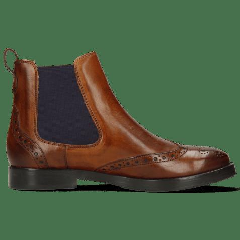 Ankle boots Amelie 5 Wood Elastic Purple RS