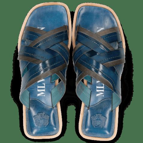 Sandals Bob 2 Classic Bluette Light Scotch Grey