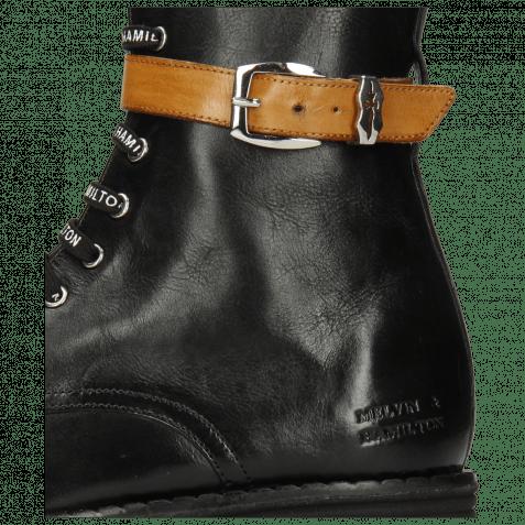 Boots Dakota 13 Imola Black Vegas Strap Tan