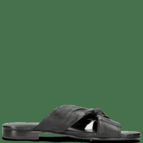 Mules Hanna 56 Nappa Black