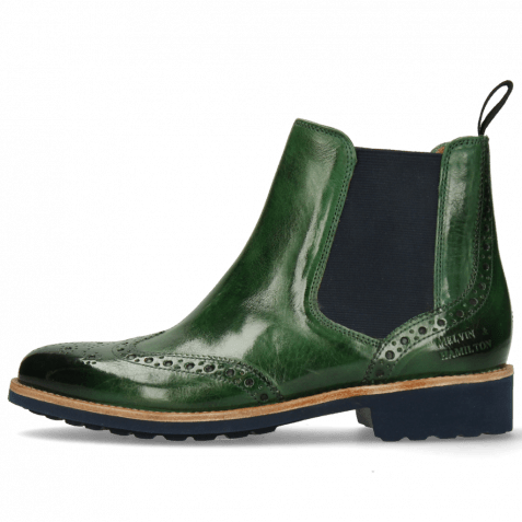 Ankle boots Selina 6 Pine Elastic Navy Lining