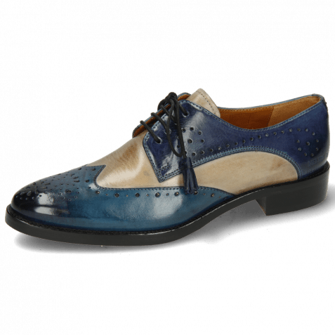 Derby shoes Betty 3 Ice Lake Oxygen Wind Tassel