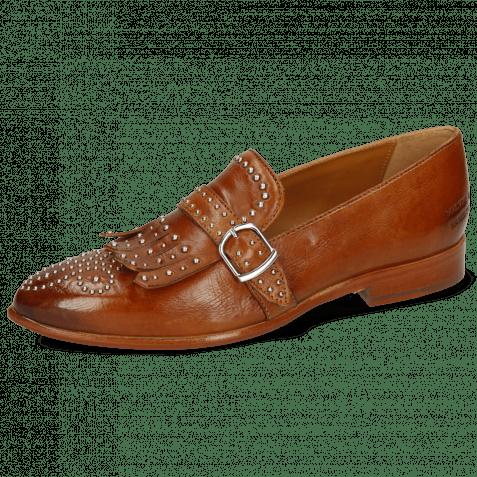 Loafers Jessy 26 Pavia Tan Rivets