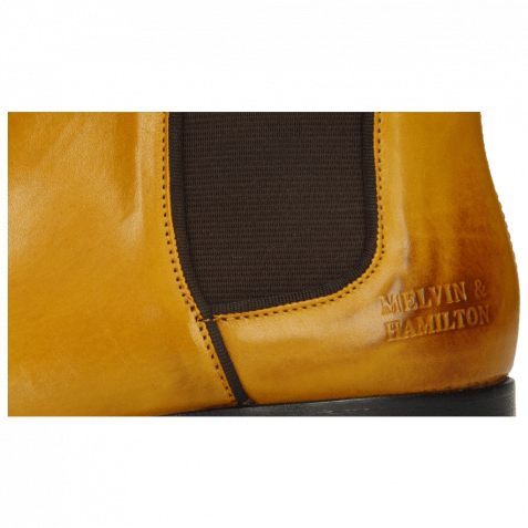 Ankle boots Susan 70 Indy Yellow Binding Brown