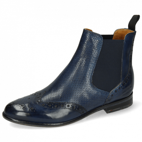 Ankle boots Selina 6 Perfo Navy