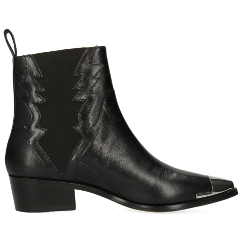 Ankle boots May 1 Nappa Black Toe Metal