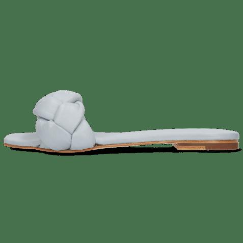Mules Sandrine 3 Nappa Sky Footbed