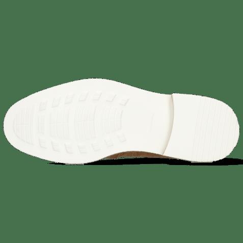 Derby shoes Trevor 10 Vegas Crock Sand Linen Jute Mesh Dice Vegas Nude