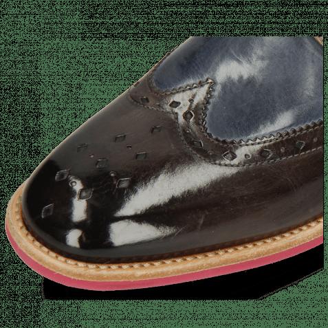 Derby shoes Eddy 5 Deep Steel Sky Blue Oxygen Eggplant