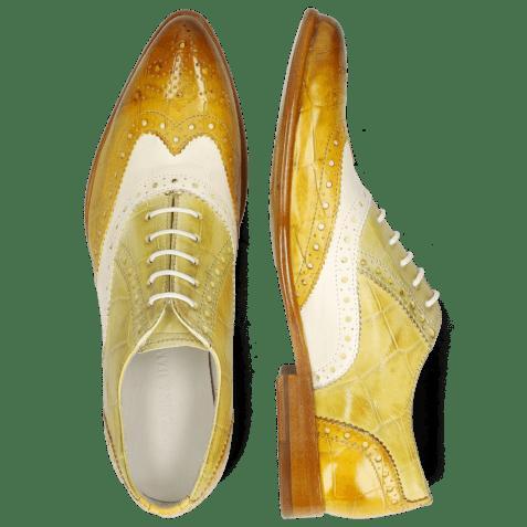 Oxford shoes Keira 10 Imola Turtle Sun White Cedro Ocra
