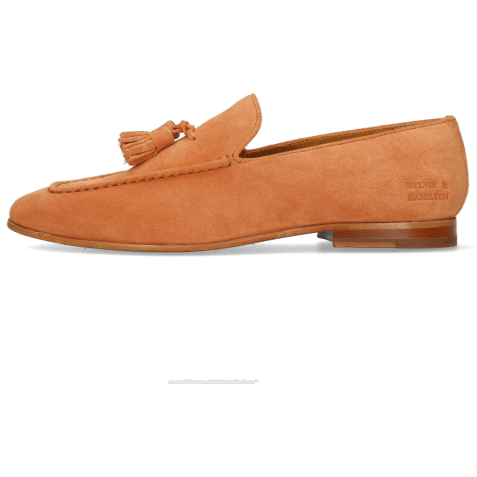 Loafers Clive 20 Suede Pattini Orange