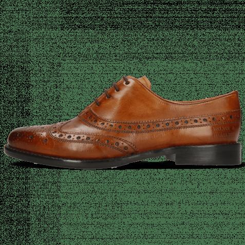 Oxford shoes Selina 8 Pisa Classic Cognac