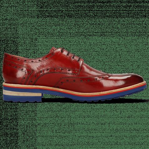 Derby shoes Eddy 5 Crust Ruby
