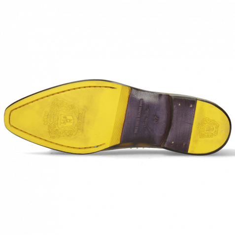 Loafers Emma 11 Turtle Indy Yellow Shade Brown