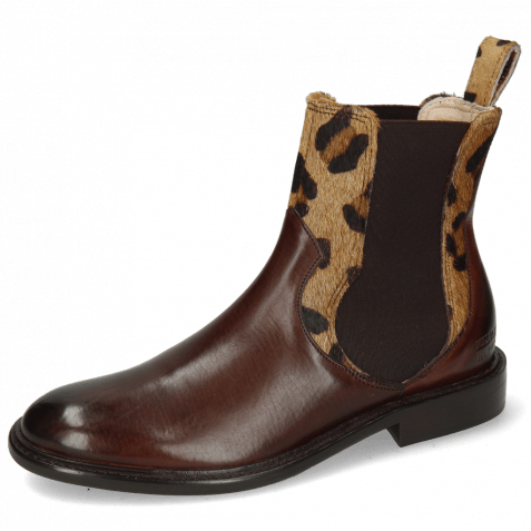Ankle boots Sally 113 Mogano Hairon Tanzania Wood