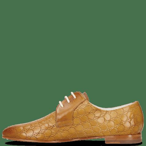 Derby shoes Monica 2 Vegas Perfo Sand