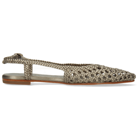 Sandals Alexa 27 Open Weave Pewter