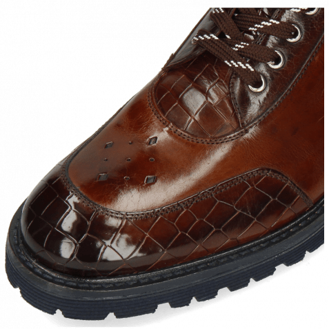 Ankle boots Trevor 28 Crock Mid Brown Wood Nappa