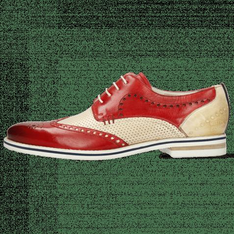 Derby shoes Scott 2 Nude Vegas Perfo Ruby