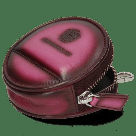 Purse Penny Crust Dark Pink