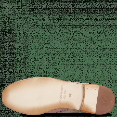 Ankle boots Amelie 5 Lilac Perfo Digital Moroccan Blue Algae Elastic Cristallo Verde