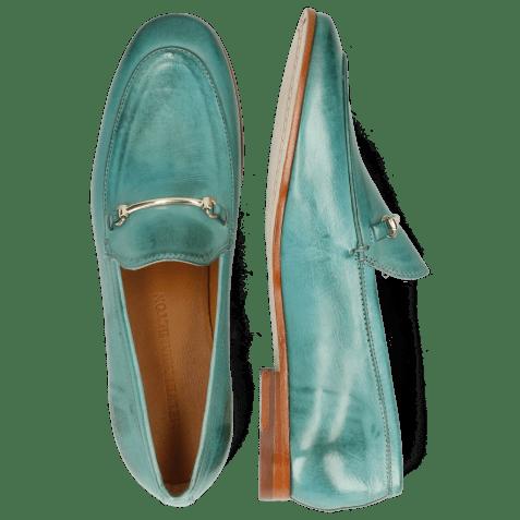 Loafers Scarlett 22 Pisa Mermaid Trim Gold